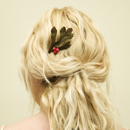 holiday hair clip