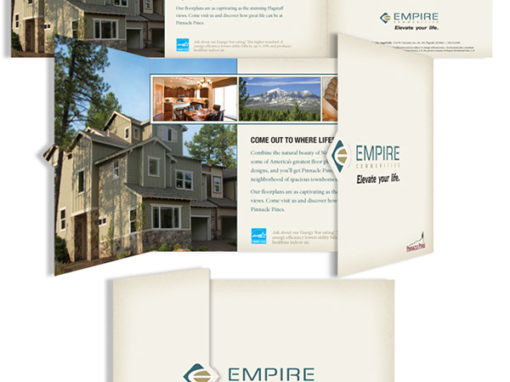 Empire Communities, brochure